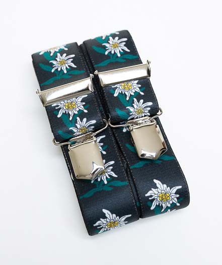 edelweiss hosentr ger im ethno look alpenroesli. Black Bedroom Furniture Sets. Home Design Ideas