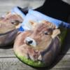 Kuh Pantoffeln