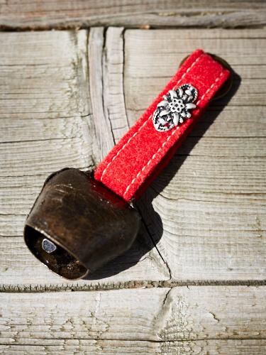 Edelweiss glocken Schlüsselanhänger